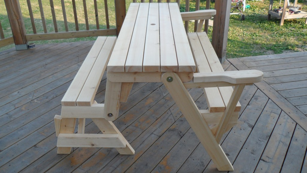 Folding Picnic Table To Bench Instructions Click On The Picture Open Southern Boyz Outdoors