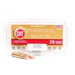 DRT 308 175gr Terminal Match™ Ammunition, 20 rounds
